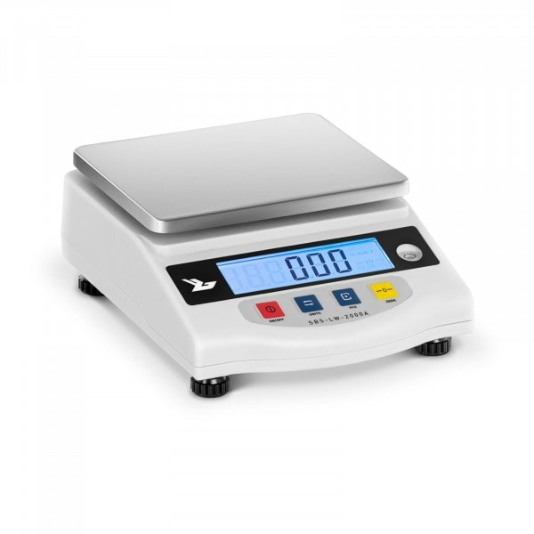 Precision Scales - 2000 g / 0.01 g - LCD