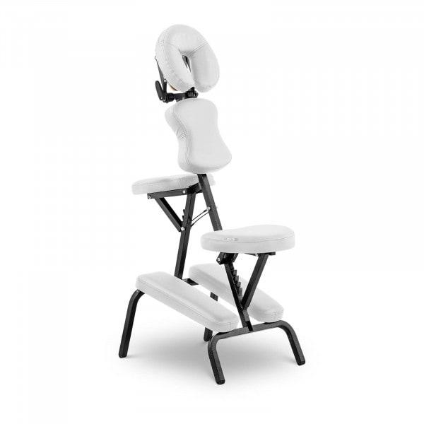 B-varer Sammenleggbart massasjestol Massage Table MONTPELLIER WHITE - hvit