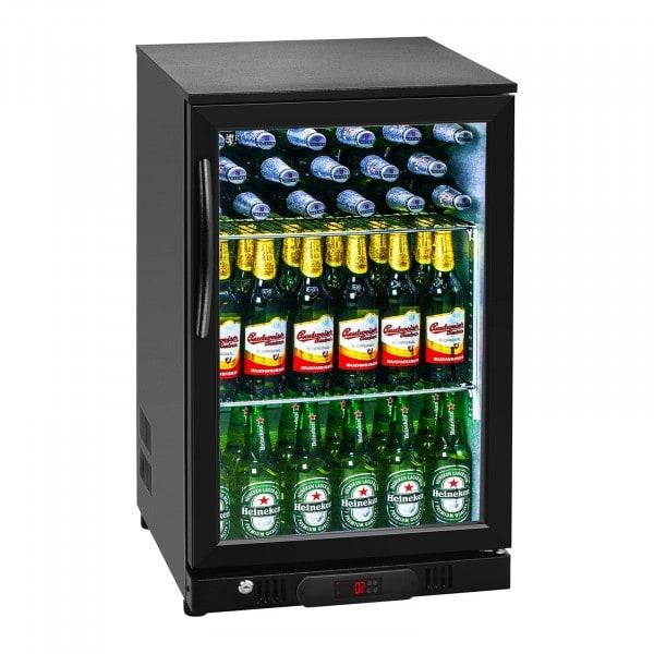 B-varer Flaskekjøleskap - 108 L - Aluminium