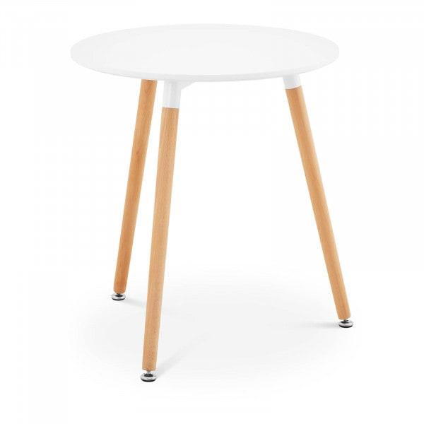 B-varer Rundt bord - Ø 60 cm - hvitt