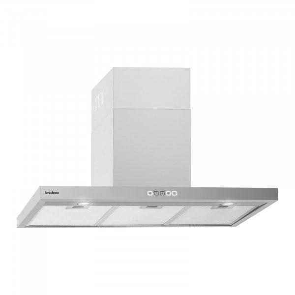B-varer Kjøkkenvifte - 90 cm - 636.5 m3/t - sølv - touch display