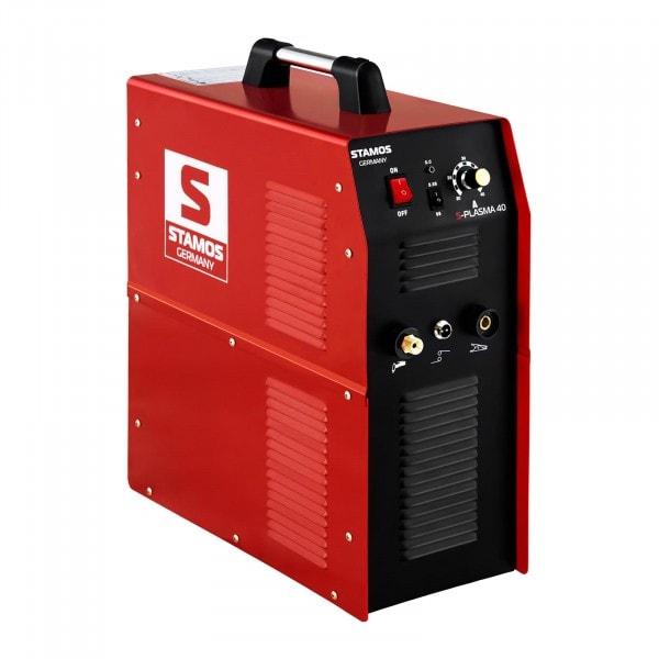 B-varer Plasma Cutter - 40 A - 230 V - Inbuilt Pneumatic Air Compressor