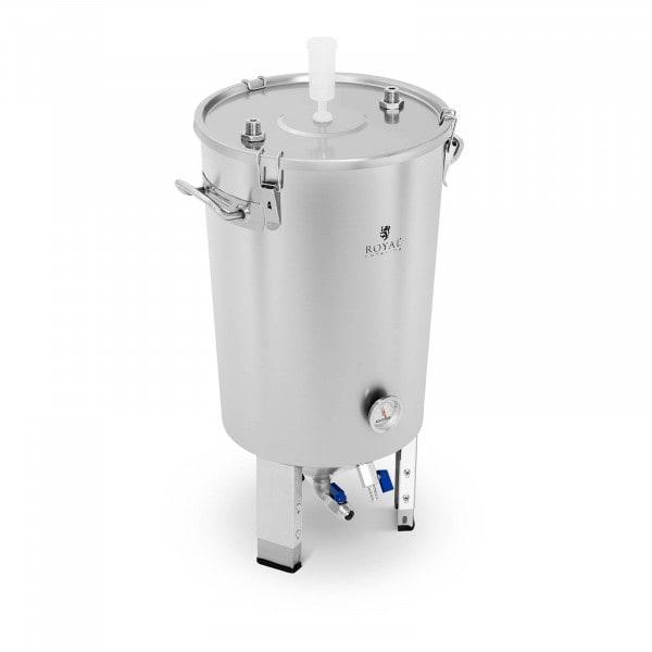B-varer Fermenteringstank - 30 L - integrert spiralkjøler