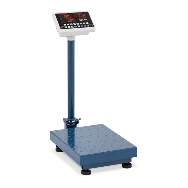 Plattformvekt - 100 kg / 10 g - Sammenleggbar