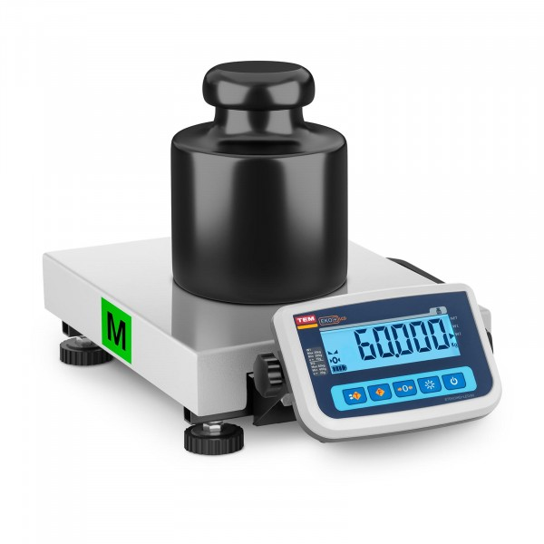 B-varer Package scale - Calibrated - 60 kg / 20 g