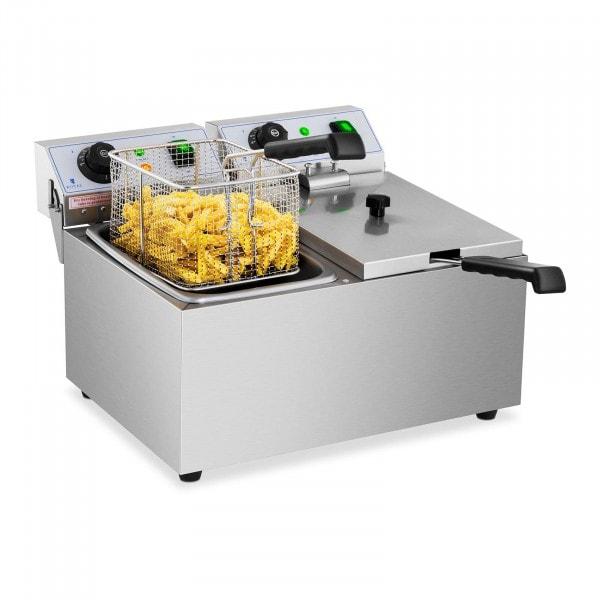 Elektrisk frityrkoker – 2 x 8 l – 230 V