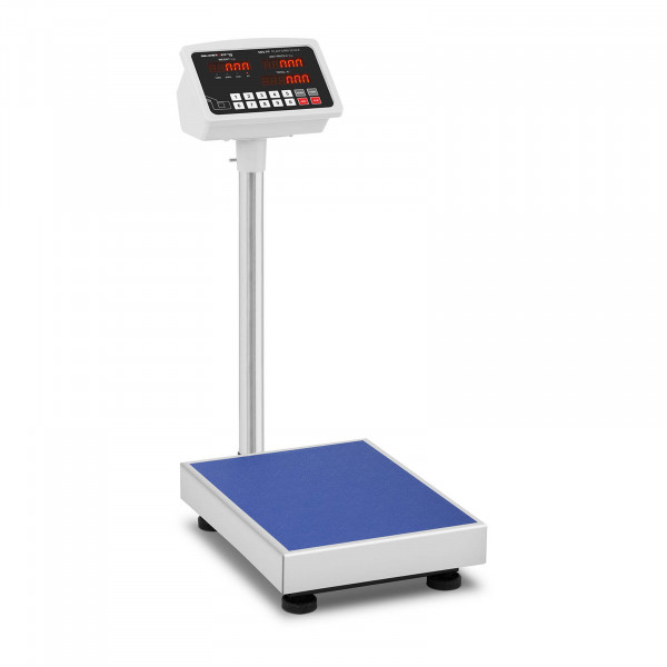 Plattformvekt - 100 kg / 10 g - LED