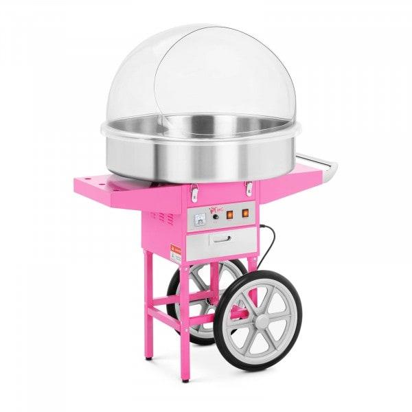 Sukkerspinnmaskin med vogn - 72 cm - Beskyttelsesskjerm