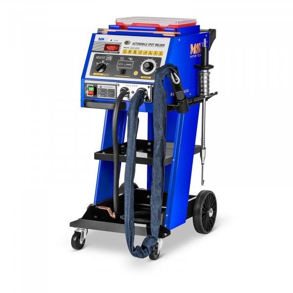 Dent puller spot welder med arbeidsbenk - 4000A