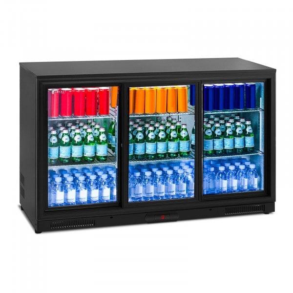 Flaskekjøleskap- 323 L - Aluminium