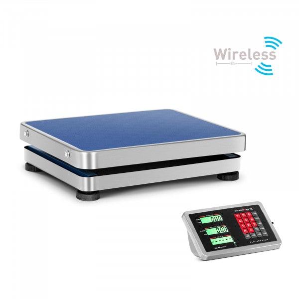 Plattformvekt - 150 kg / 20 g - wireless