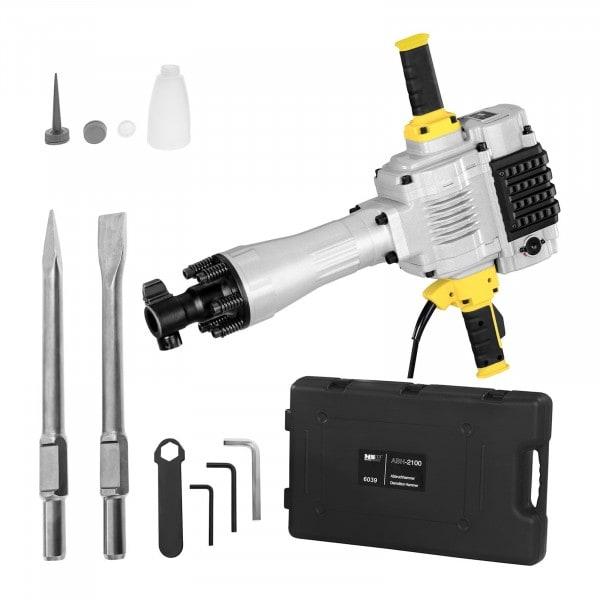 Meiselhammer ABH-2100 - 2.100 W - 85 J -1.600 slag/min - SDS-HEX