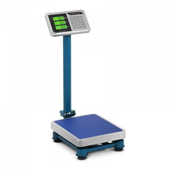 B-varer Industrivek - 100 kg / 20 g - 30 x 40 cm - LCD - rustfritt stål