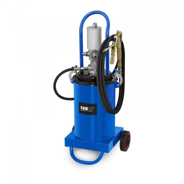 B-varer Pneumatisk fettsprøyte - 12 Liter - kjørbar - 240-320 bar pumpetrykk