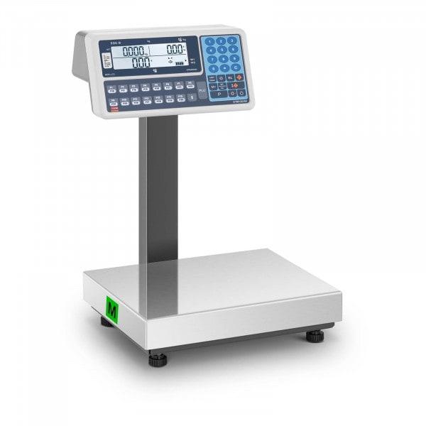 B-varer Butikkvekt - 30 kilo - LCD-display
