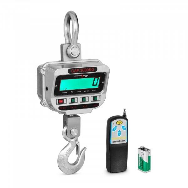Kranvekt - 3 t / 0.5 kg - LCD