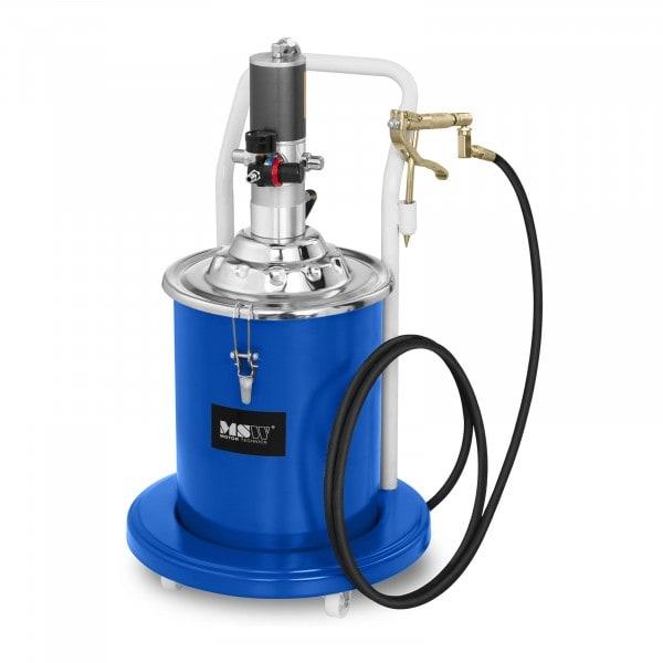 B-varer Pneumatisk fettsprøyte - 20 Liter - kjørbar - 300-400 bar pumpetrykk