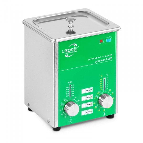 Ultralydrenser - 2 liter - Avgassing - Sweep