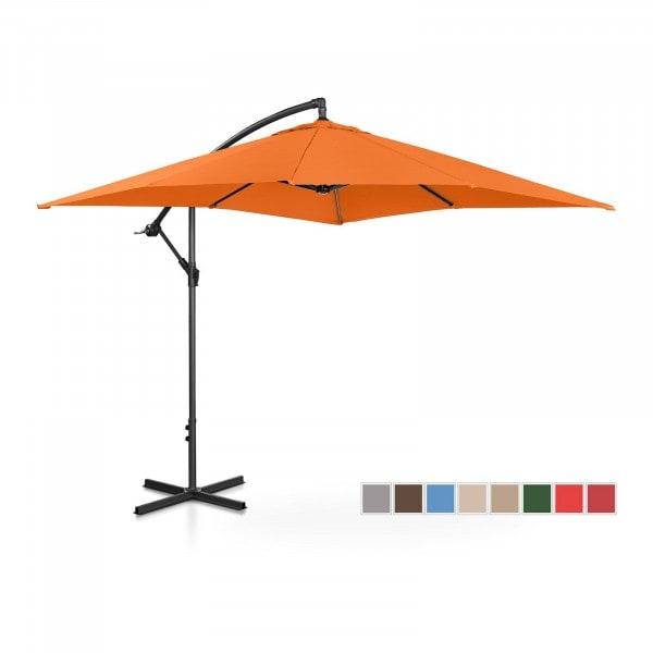 B-WARE Hengeparasoll - oransje - rektangulær - 250 x 250 cm - kan skråstilles