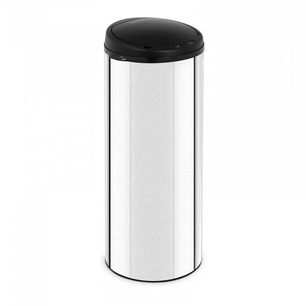 B-varer Avfallsbeholder med sensor - 50 L - galvanisert stål