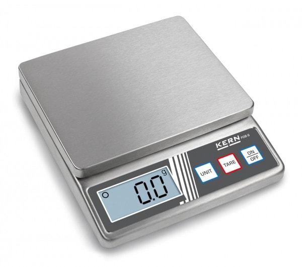 KERN kompakt vekt FOB-S 5 kg / 1 g