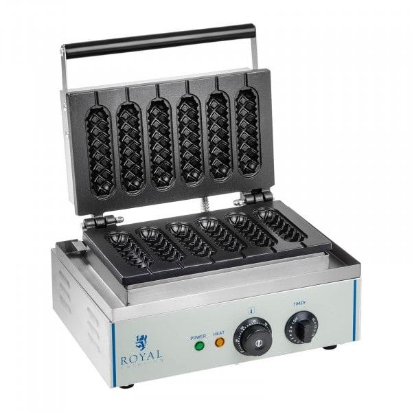 Vaffeljern - 1 x 1.500 Watt - Pinne - Corn Dog