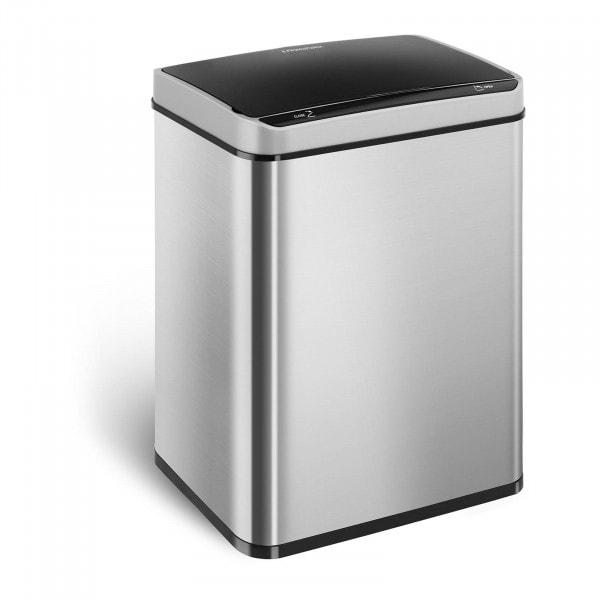 B-varer Duo søppelbøtte med sensor til kjøkken - 50 L - Firkantet