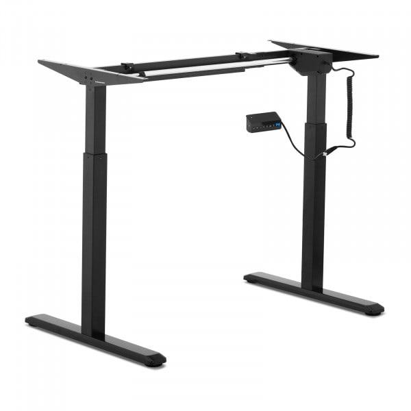 B-varer Hev-senk understell for skrivebord - elektrisk - 200 W - 80 kg - sort