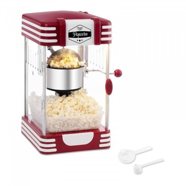 Popcornmaskin - 50's retrodesign - Rød