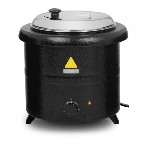 Elektrisk gryte for suppe - 13 L - 600 W - sort