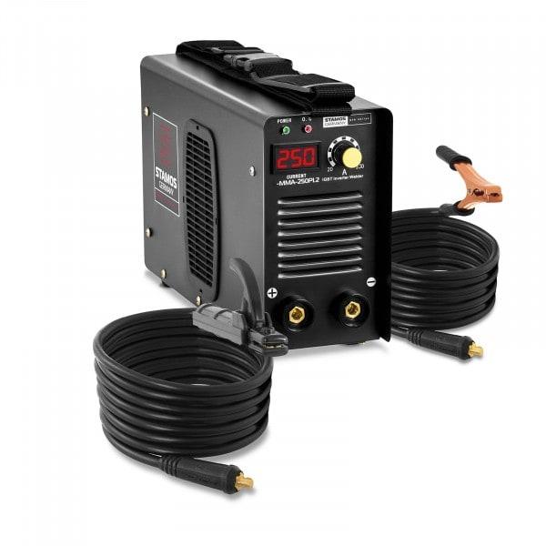 B-varer Arc Welder - 250 A - 8M Cable - Hot Start - PRO
