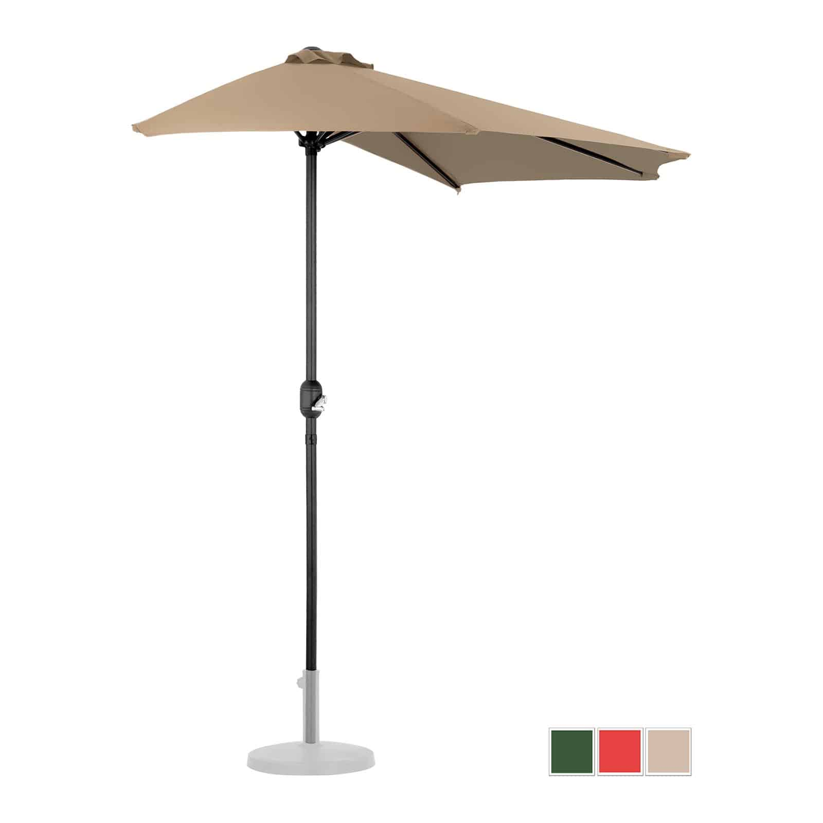 Halve parasoller