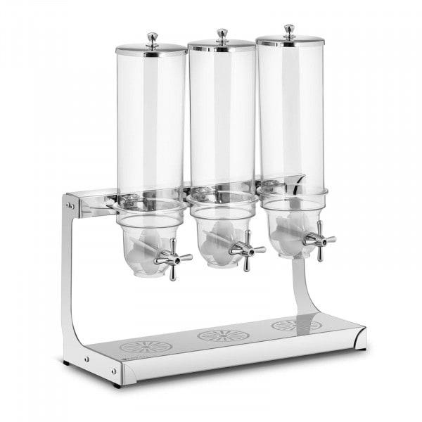 B-varer Frokostblanding-dispenser - 3x 3.5 L - 3 beholdere