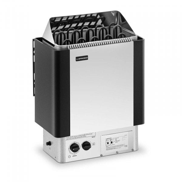 B-varer Badstuovn - 9 kW - 30 til 110 °C - inkl. kontrollpanel