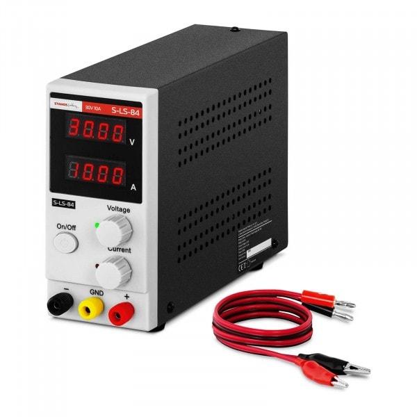 B-varer Strømforsyning - 0-30 V - 0-10 A DC - 300 W