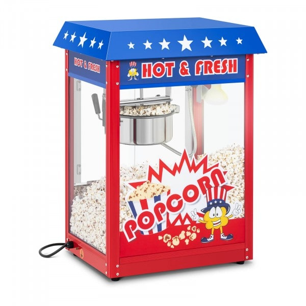 Popcornmaskin - Amerikansk design