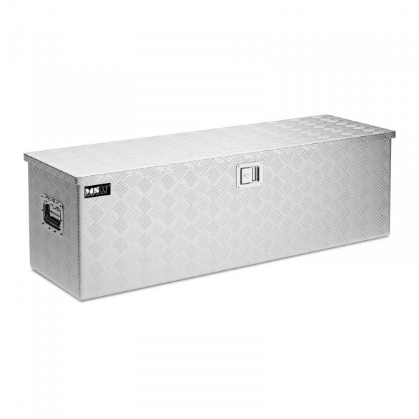 B-varer Aluminiumskasse - 124 x 38 x 38 cm - 150 L