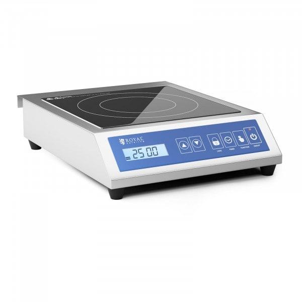B-varer Induksjonsplate - 28 cm - 60 til 240 °C - touch display - timer