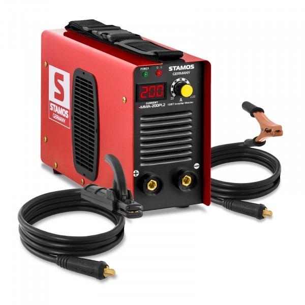 Elektrodesveiseapparat - 200 A - Hot Start - LED-display
