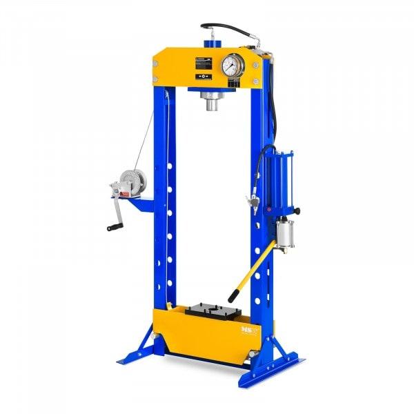 Hydropneumatisk verkstedspresse - Opptil 50 tonn trykk