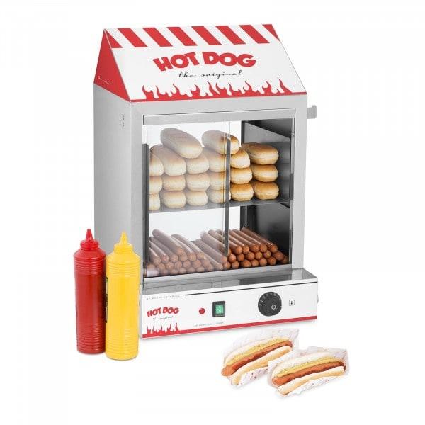 Hotdog-dampkoker - 2000 W
