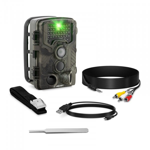 B-varer Viltkamera - 8 MP - Full HD - 42 IR LED - 20 m. - 0,3 sek. - LTE