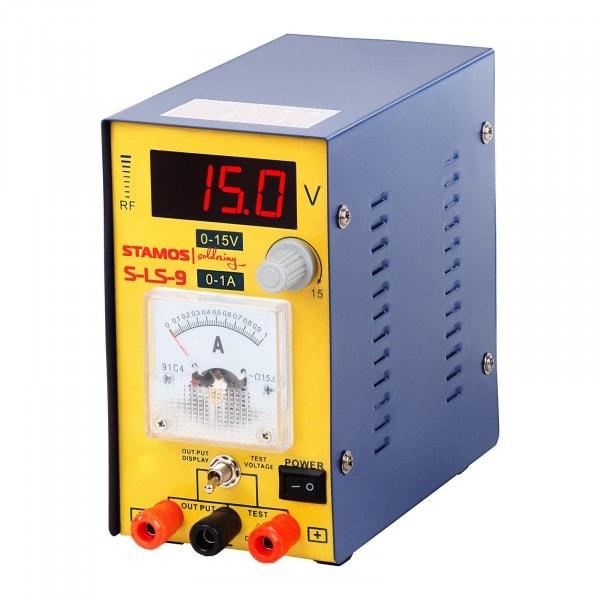B-varer Power Supply 0-15 V , 0-1A DC