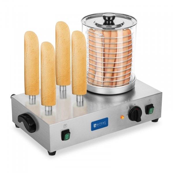 Pølsevarmer inkl. brødstativ