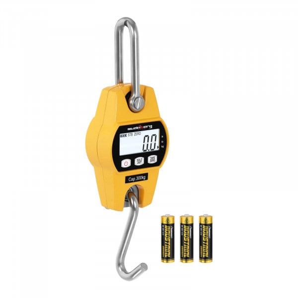 B-varer Kranvekt - 300 kg / 100 g - LCD - gul