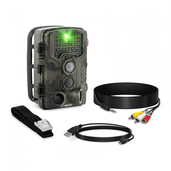 B-varer Viltkamera - 8 MP - Full HD - 42 IR LED - 20 m. - 0,3 sek.