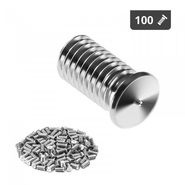 B-varer Stud Welder Set - M8 - 16 mm - Stainless steel - 100 pieces