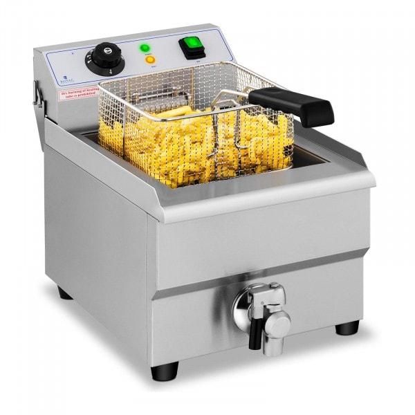Elektrisk frityrkoker – 16 l – Tappekran – 230 V
