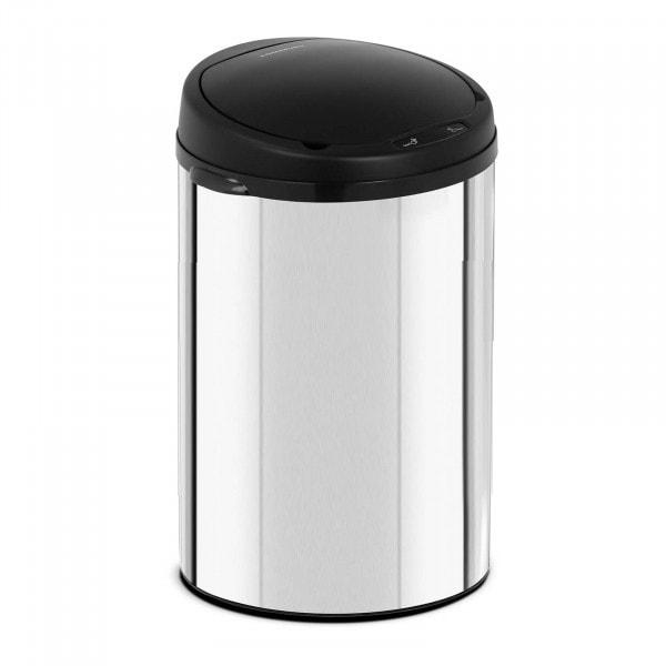 B-varer Avfallsbeholder med sensor - 30 L - galvanisert stål
