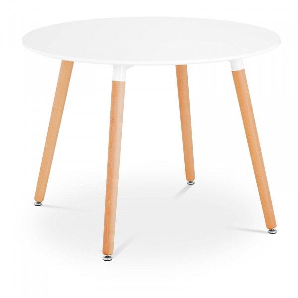 B-varer Rundt bord - Ø 100 cm - hvitt